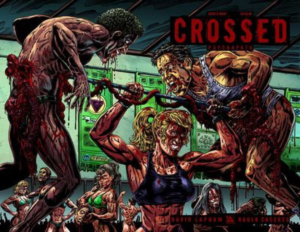 Crossed: Psychopath #6 Wrap Cover)