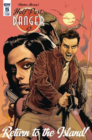 Half Past Danger II: Dead to Reichs #5 (Mooney Cover)