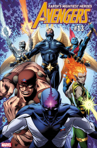 Avengers #13 (Zircher GotG Cover)