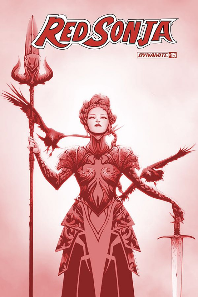 Red Sonja #15 (21 Copy Lee Tint Dressed Cover)