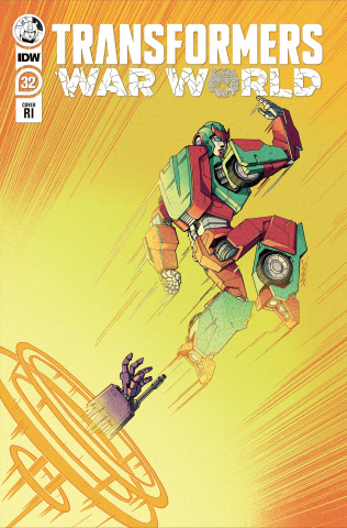 The Transformers #32 (10 Copy Winston Chan Cover)