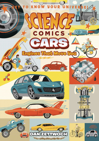 Science Comics: Cars - Engines That Move You