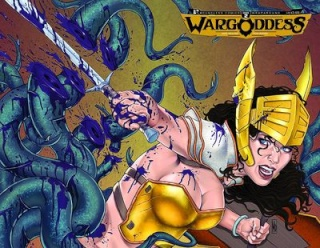 War Goddess #2 (Wrap Cover)