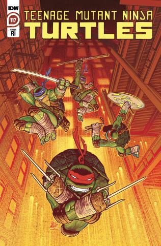 Teenage Mutant Ninja Turtles #117 (10 Copy Sam Lofti Cover)
