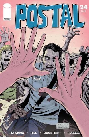 Postal #23 (Walking Dead #51 Tribute Cover)