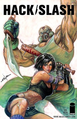 Hack/Slash #11 (Laiso Cover)