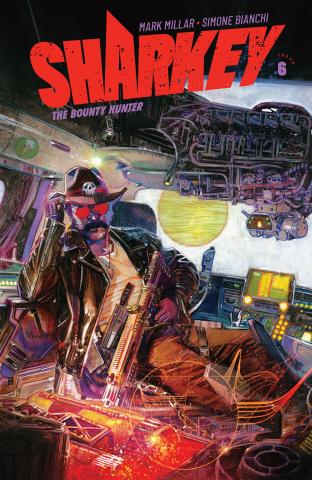 Sharkey, The Bounty Hunter #6 (Edwards Cover)