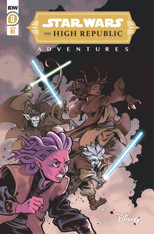 Star Wars: The High Republic Adventures #8 (10 Copy Kyriazis Cover)