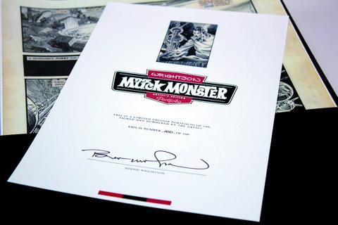 Bernie Wrightson: Muck Monster - Artist Edition Portfolio