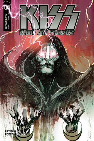 KISS: Blood and Stardust #4 (Sayger Cover)