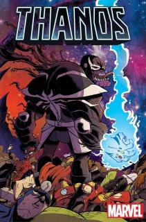Thanos #5 (Guillory Venomized Cover)