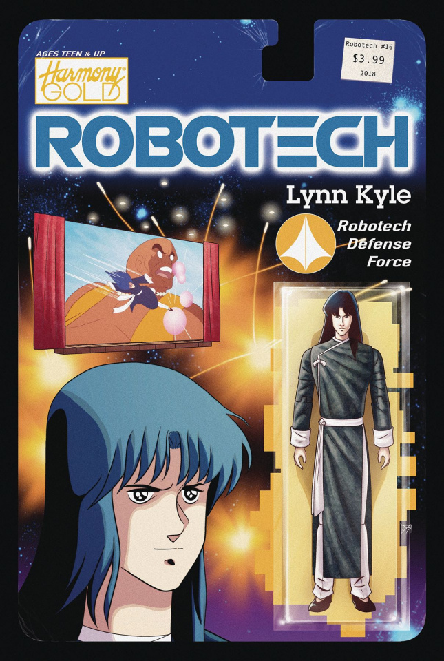 Robotech #16 (Action Figure Cover)