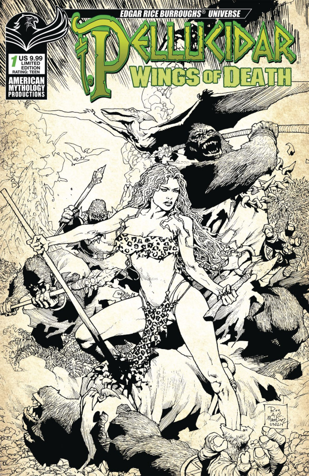 Pellucidar: Wings of Death #1 (Limited Cover)