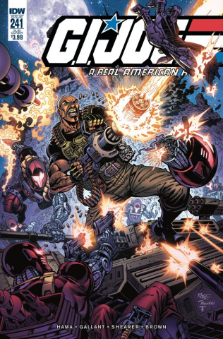 G.I. Joe: A Real American Hero #241 (Subscription Cover)