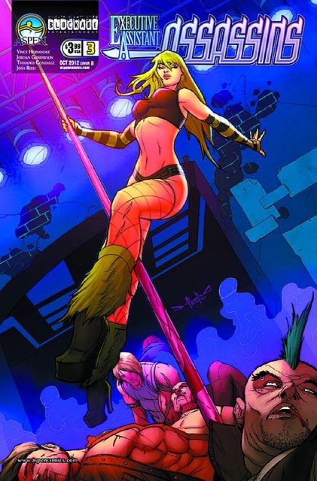 Executive Assistant: Assassins #3 (Qualano Cover)