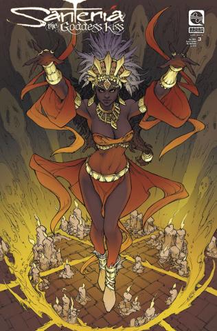 Santeria: The Goddess Kiss #3 (8 Copy Cover)