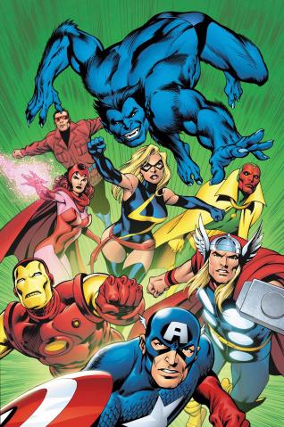 Avengers #676 (Davis Avengers Cover)