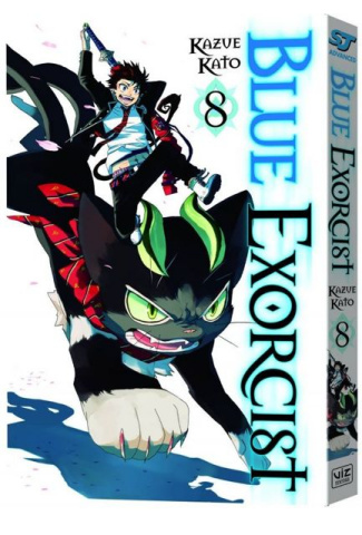 Blue Exorcist Vol. 8
