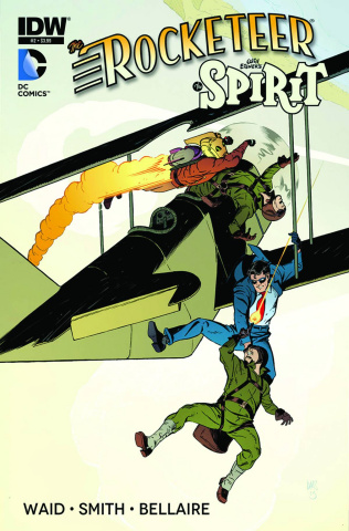 The Rocketeer/The Spirit: Pulp Friction #2