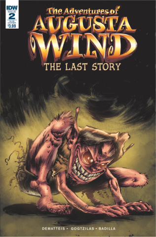 The Adventures of Augusta Wind: The Last Story #2 (Subscription Cover)