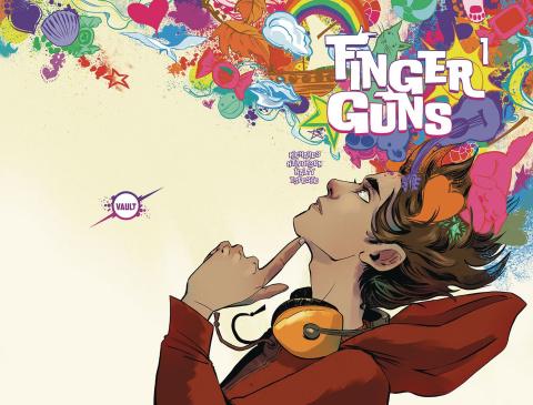 Finger Guns #1 (Hickman Wraparound Cover)