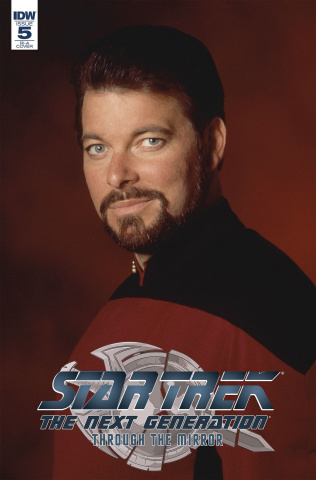 Star Trek: The Next Generation - Through the Mirror #5 (10 Copy Cover)