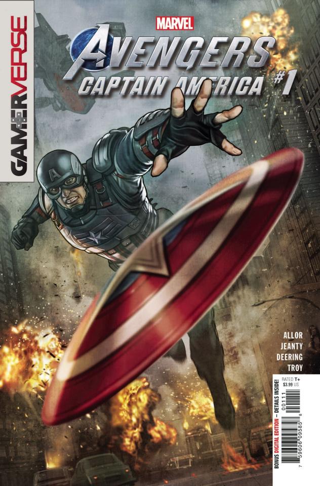 Avengers: Captain America #1