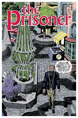 The Prisoner #1 (Kirby & Allred Cover)
