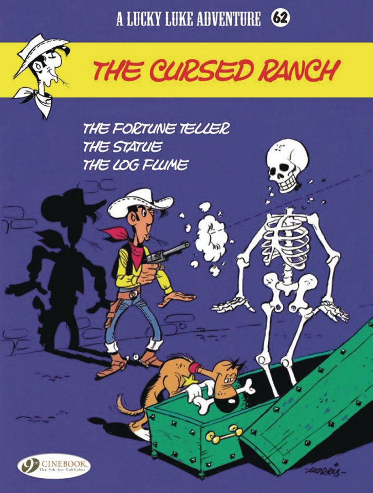 Lucky Luke Vol. 62: The Cursed Ranch