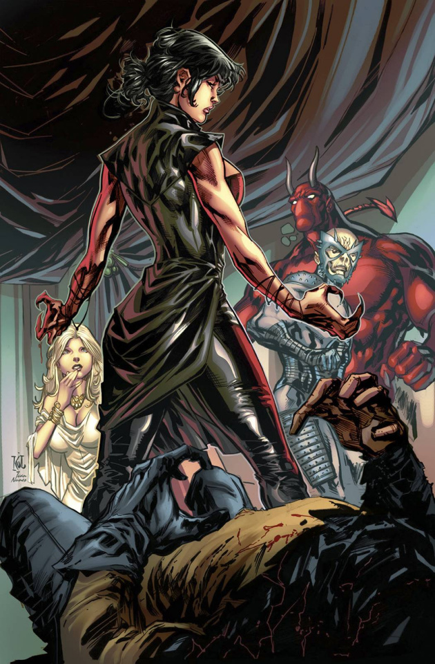 Grimm Fairy Tales: Realm War #4 (Lashley Cover)