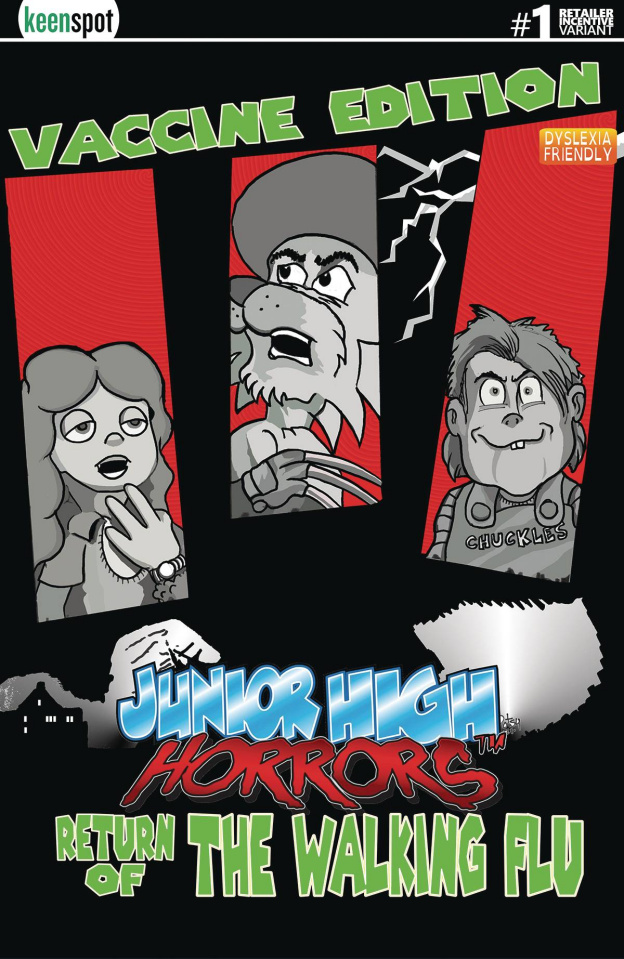 Junior High Horrors: The Walking Flu Vaccine Edition #1 (5 Copy Cover)