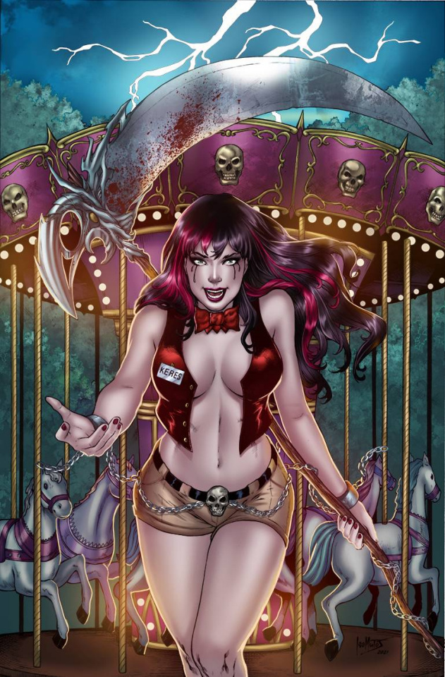 Tales of Terror Quarterly 2021 Halloween Special (Matos Cover)