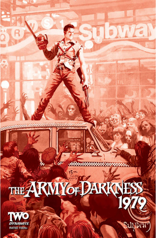 The Army of Darkness: 1979 #2 (30 Copy Suydam Blood Cover)