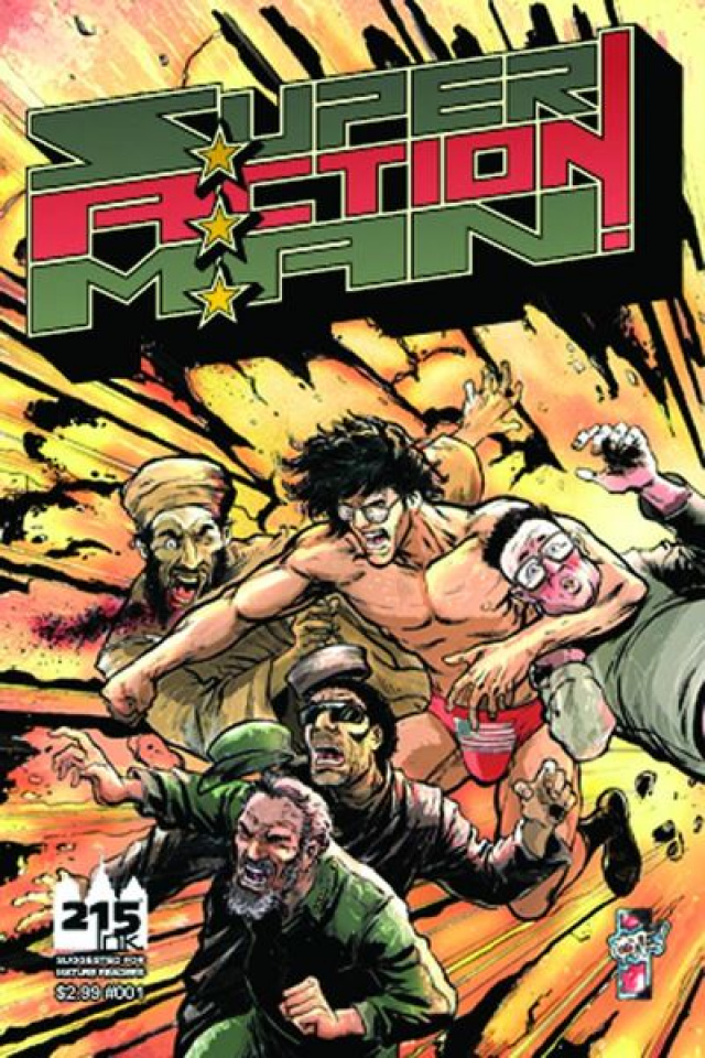 Super Action Man: Loudmouth #1