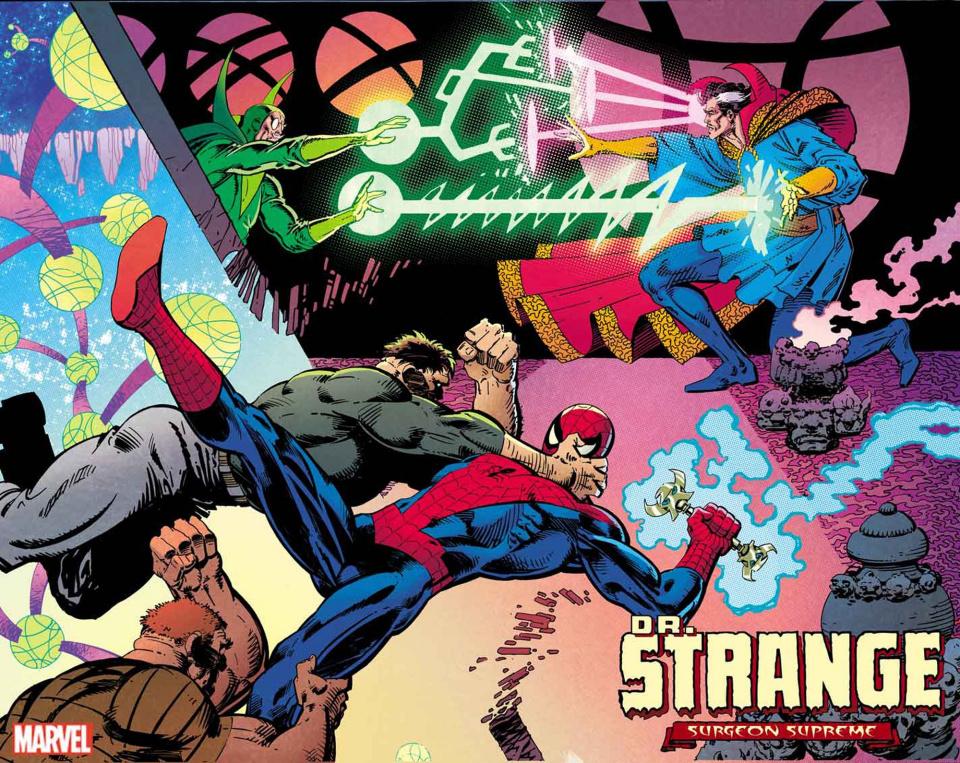 Dr. Strange #1 (Miller Hidden Gem Cover)