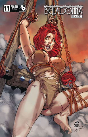 Belladonna: Fire and Fury #11 (Bondage Cover)