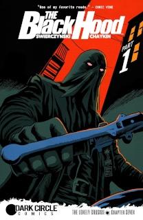The Black Hood #7 (Francavilla Cover)