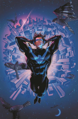 Nightwing #79 (Jamal Campbell Card Stock Cover)
