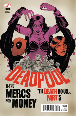 Deadpool and the Mercs For Money #10 (Crook Poster COver)