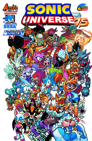 Sonic Universe #75 (Lamar Wells Cover)