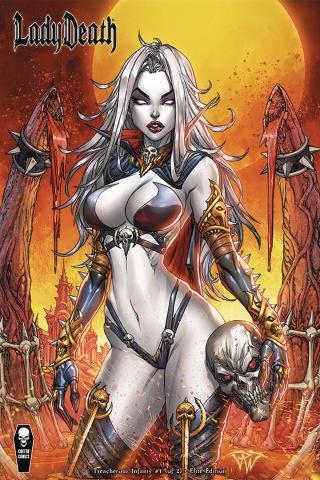 Lady Death: Treacherous Infamy #1 (10 Copy Elite Cover)