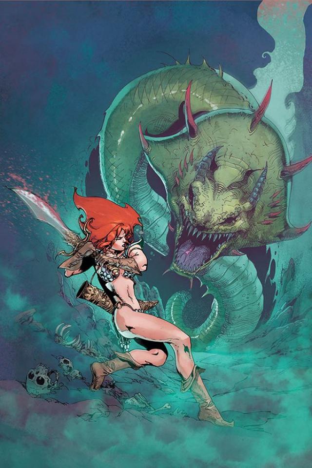 Red Sonja #11 (11 Copy Castro Virgin Cover)