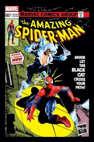 The Amazing Spider-Man #7 (Hasbro Cover)