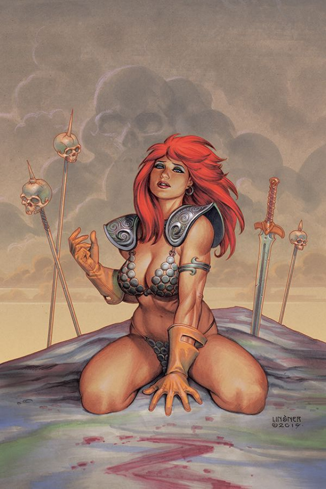 Red Sonja #6 (Linsner Virgin Cover)