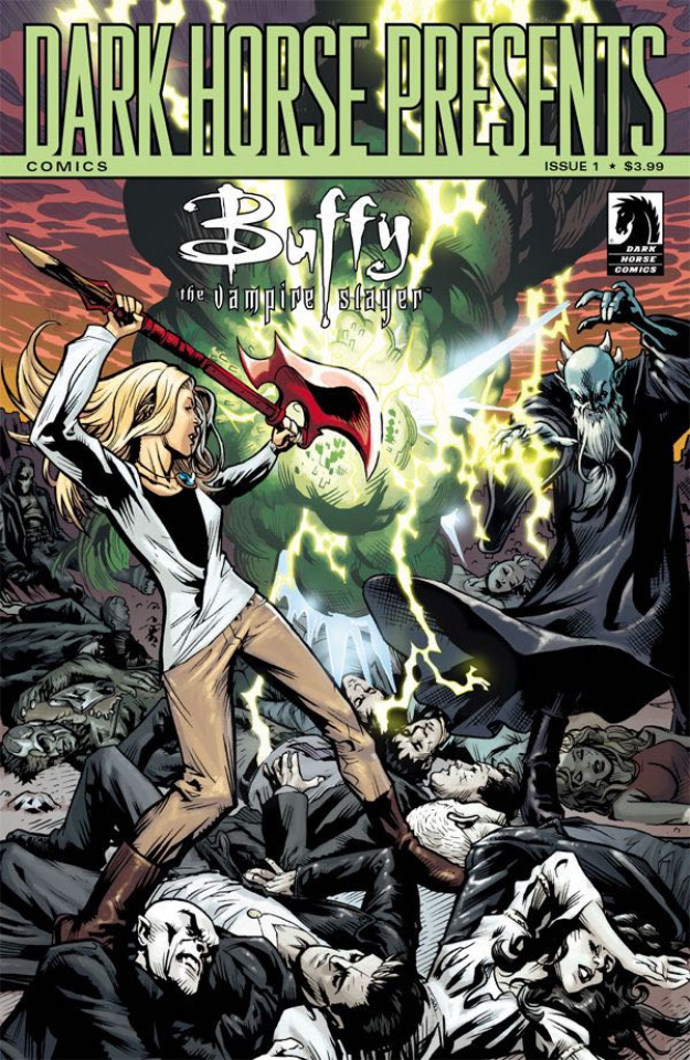 Buffy the Vampire Slayer, Season 11 #1 (Moline 30th Anniversary Cover)