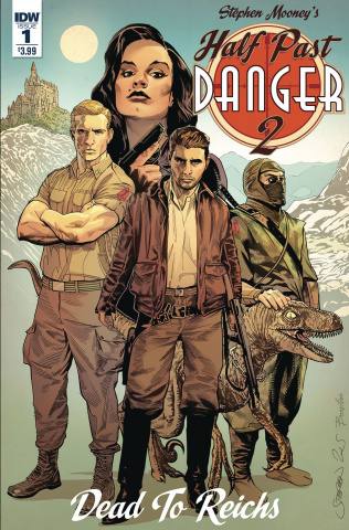 Half Past Danger II: Dead to Reichs #1 (Mooney Cover)