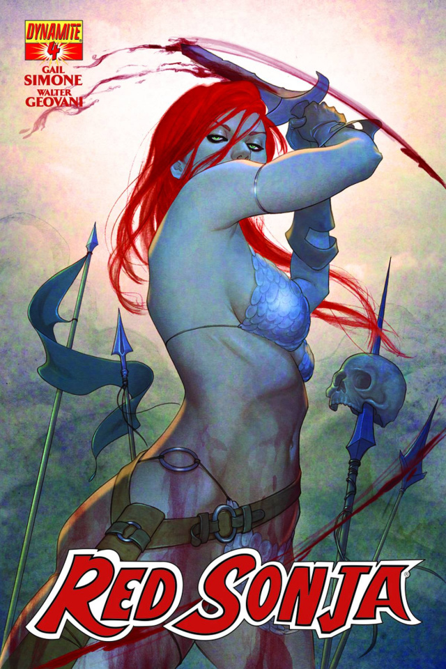 Red Sonja #4 (Frison Cover)