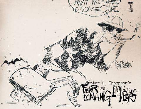 Fear and Loathing in Las Vegas #3 (Subscription Cover)