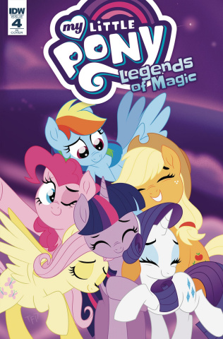 My Little Pony: Legends of Magic #4 (10 Copy Cover)