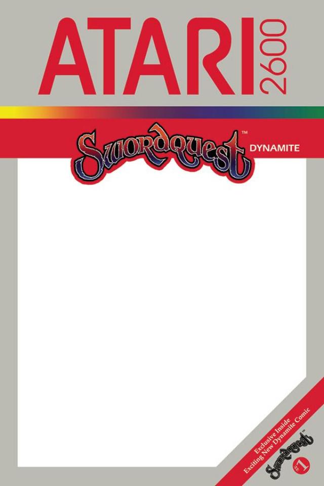 Swordquest #1 (Blank Authentix Cover)